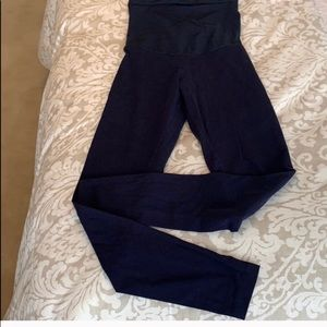 Motherhood navy blue maternity leggings